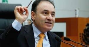 Alfonso Durazo dijo que la Policía Federal fue abandonada por gobiernos anteriores. Foto: Sin Embargo