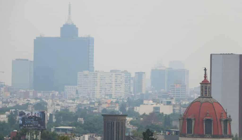 En las próximas horas podría decretarse la contingencia ambienta en la CDMX. Foto: WRadio