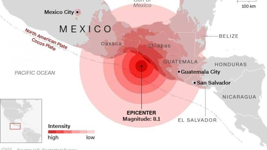 Cómo se mide la magnitud de un sismo