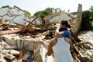 Reconstrucción en Oaxaca por terremoto