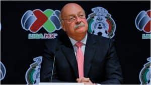 Enrique Bonilla, presidente de la Liga MX, positivo a COVID-19