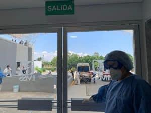 Hospital General No. 32 del IMSS, en Villa Coapa, ya es COVID-19