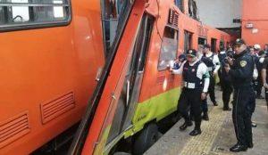 Detienen a dos trabajadores del Metro por choque de trenes en Tacubaya