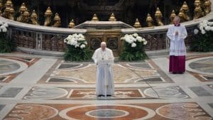Pope Francis delivers his 'Urbi et Orbi' message on Easter SundayPope Francis delivers his 'Urbi et Orbi' message on Easter Sunday (Vatican Media)