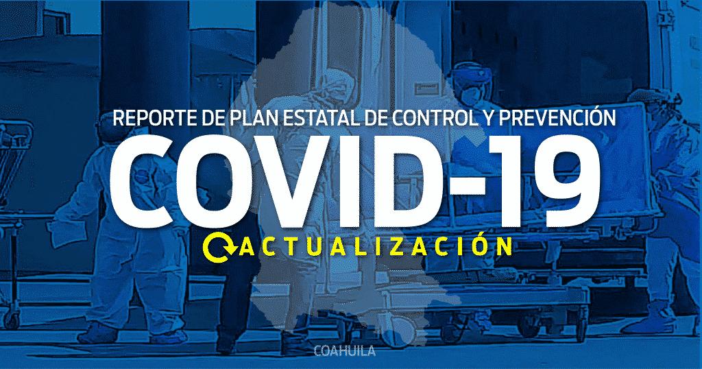 Reporta Coahuila el plan estatal de prevención y control covid-19 - News  Report MX