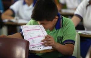fecha para el examen diagnóstico de ingreso a secundaria en la CDMX