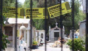 Cerrarán panteones públicos de la CDMX del 9 al 11 de mayo