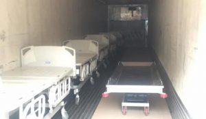 Edoméx resguarda cuerpos de fallecidos por COVID-19 en tráileres refrigerantes