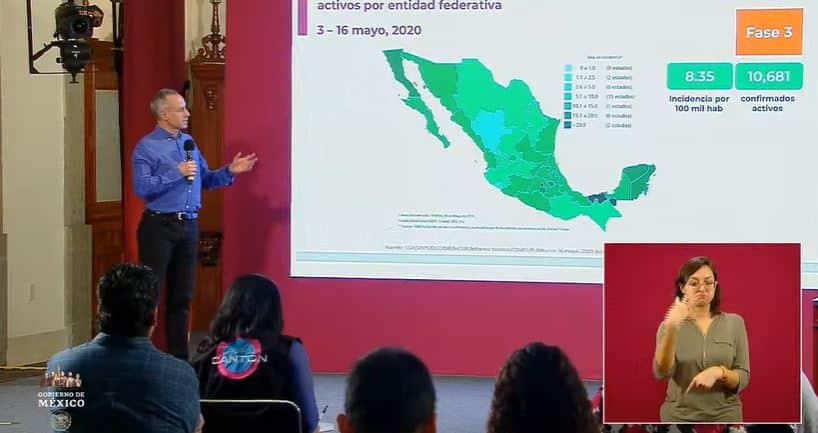 coronavirus en México al 16 de mayo portada