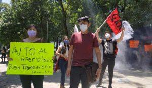 Grupos anarquistas protestan en CDMX por George Floyd y Giovanni López