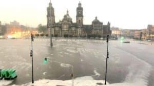 primera tormenta de la temporada de lluvias en CDMX