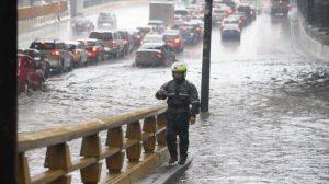 Activan alerta amarilla por lluvia en nueve alcaldías de la CDMX