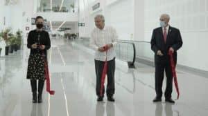 """Dedo """"L"""" de la Terminal 2 del AICM"""