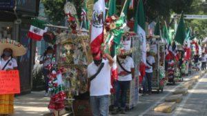 Autorizan venta de banderas y artículos patrios en CDMX