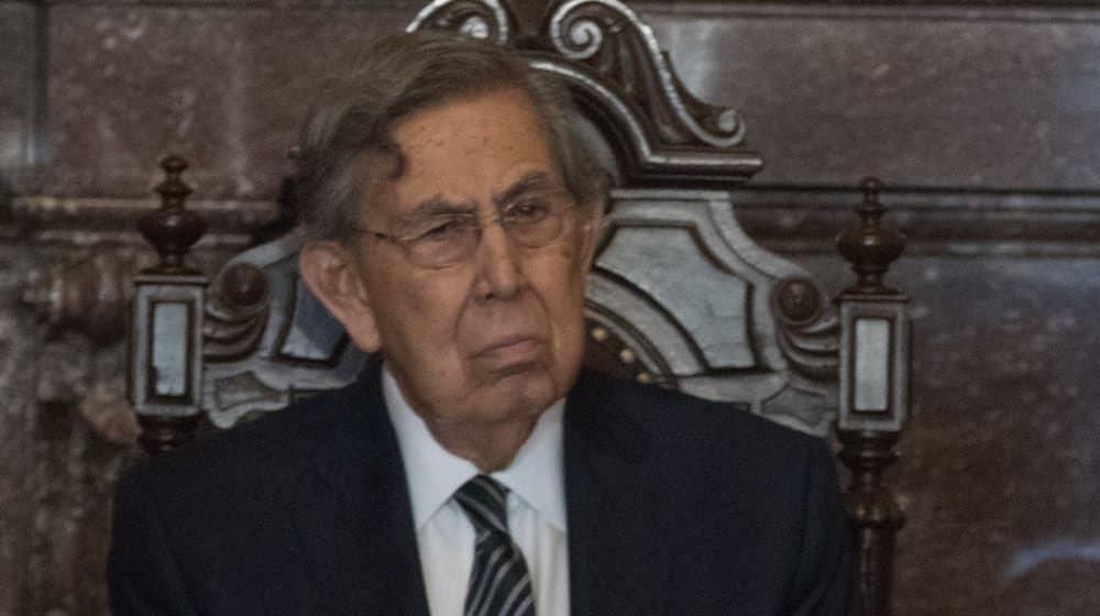 Cuauhtémoc Cárdenas dio positivo a COVID-19