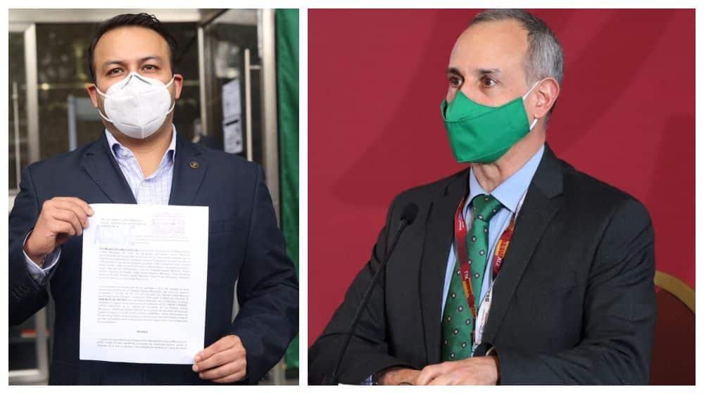 PAN denuncia a López-Gatell