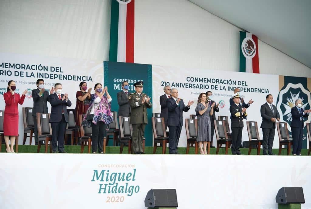 ganadores del Grado Collar la Condecoración Miguel Hidalgo 2020