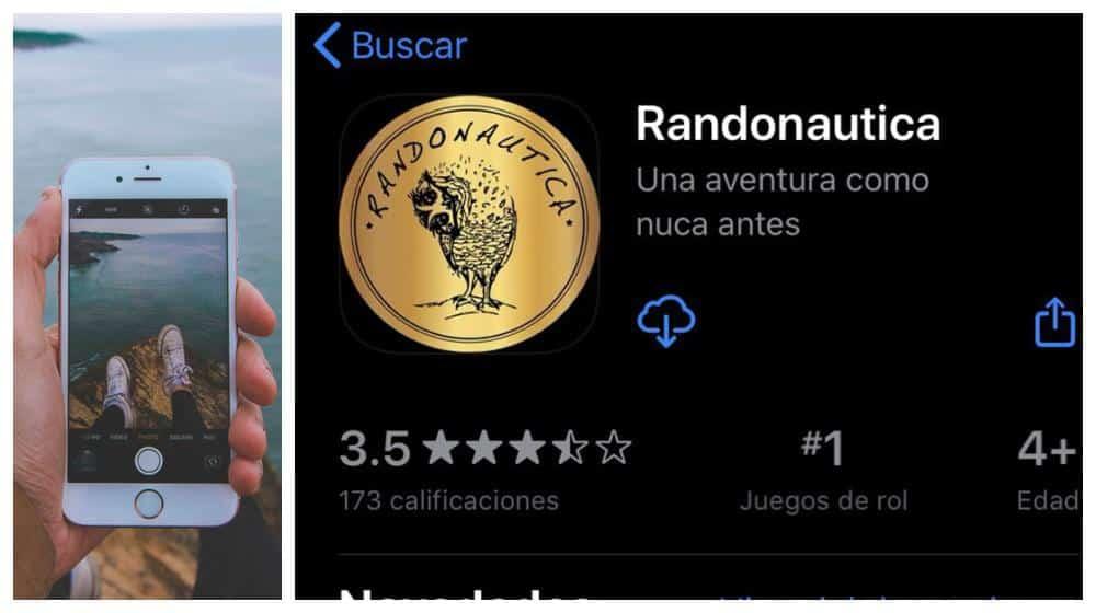 "peligros de usar la app ""Randonautica"""