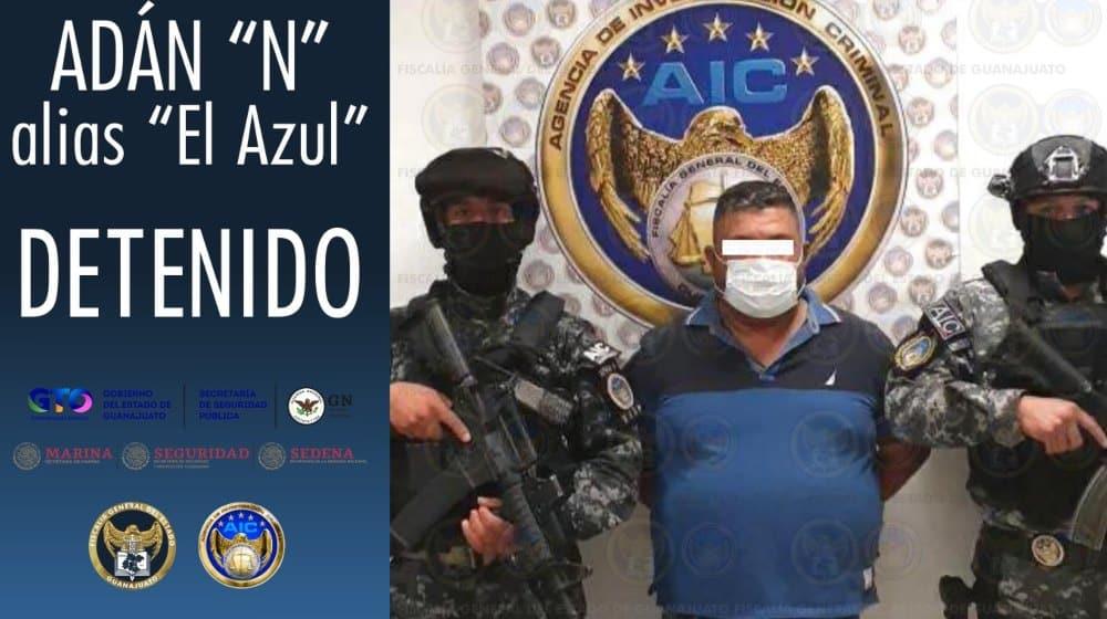 Detienen a El Azul cartel de santa rosa