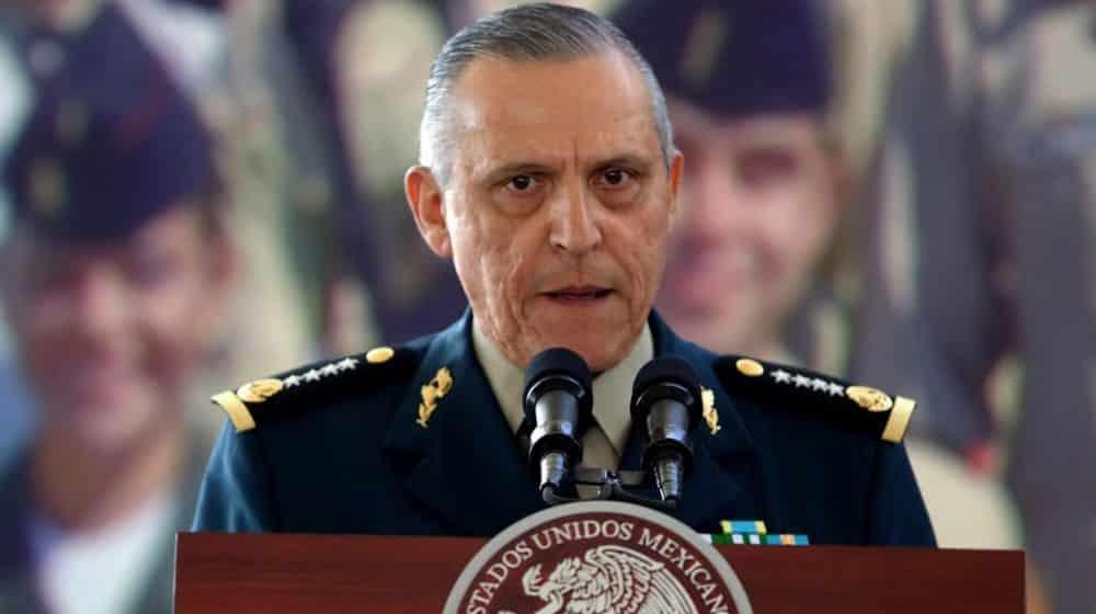 EUA retira cargos contra Salvador Cienfuegos
