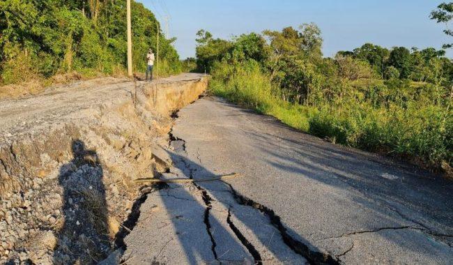 plan prioritario para atender carreteras dañadas en Tabasco