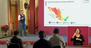 coronavirus en México al 28 de noviembre