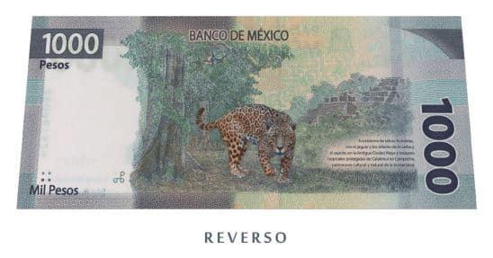 características del nuevo billete de 1000 pesos