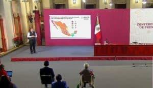 Coronavirus en México al 21 de diciembre