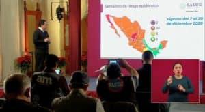 Coronavirus en México al 7 de diciembre