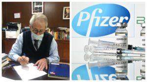 Vacuna contra COVID-19 de Pfizer podría llegar a México este mes