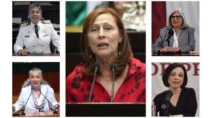 mujeres cambios en el gabinete