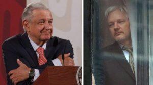AMLO ofrece asilo político a Julian Assange