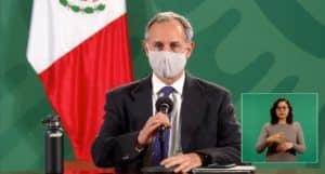 Coronavirus en México al 18 de enero