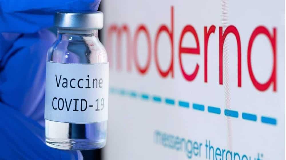 Reino Unido vacuna de moderna