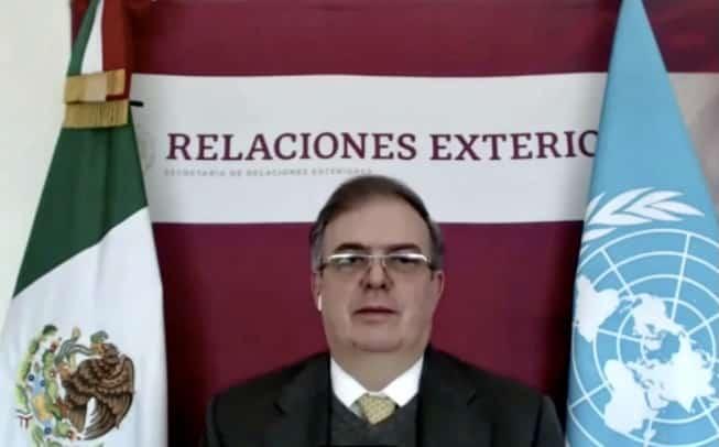 Marcelo Ebrard Consejo de Seguridad de la ONU