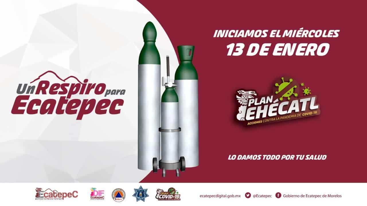 Ecatepec tanques de oxígeno
