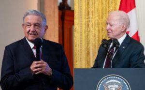 AMLO se reunirá de manera virtual con el Presidente Joe Biden el próximo lunes