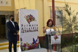 Clara Brugada inaugura centro de salud en el Peñón Viejo en Iztapalapa