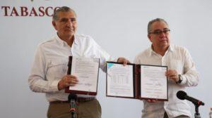 convenio que firmó el Gobierno de Tabasco con la CFE