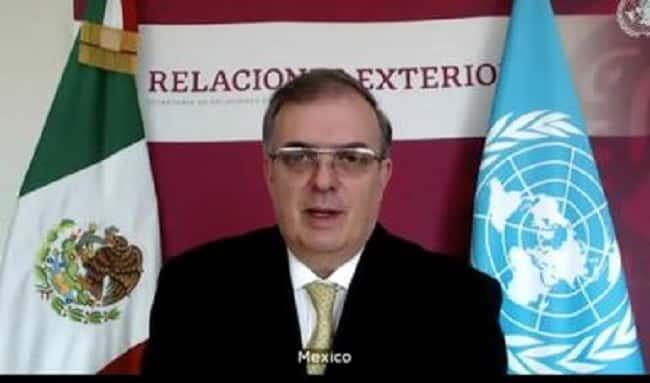 México denuncia ante la ONU el acceso inequitativo a vacunas