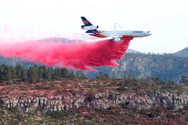 No se escatimarán recursos hasta liquidar incendio en Arteaga