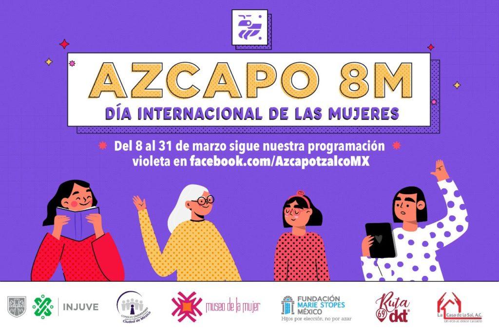 Azcapotzalco Día Internacional de la Mujer