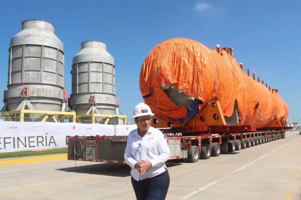 Rocío Nahle Secretaria de Energía