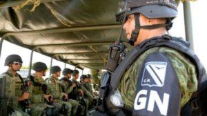 Guardia nacional en zacatecas