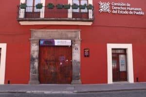 Puebla Centro Histórico protestas del 8m