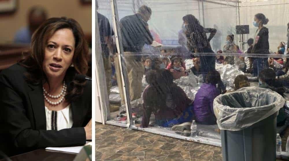 Kamala Haris migración en EUA