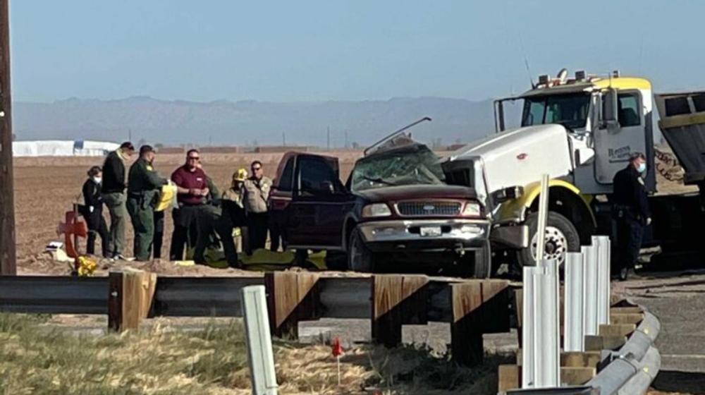 Mueren 10 mexicanos tras accidente en California