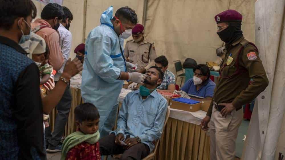 Nueva variante de coronavirus en la India