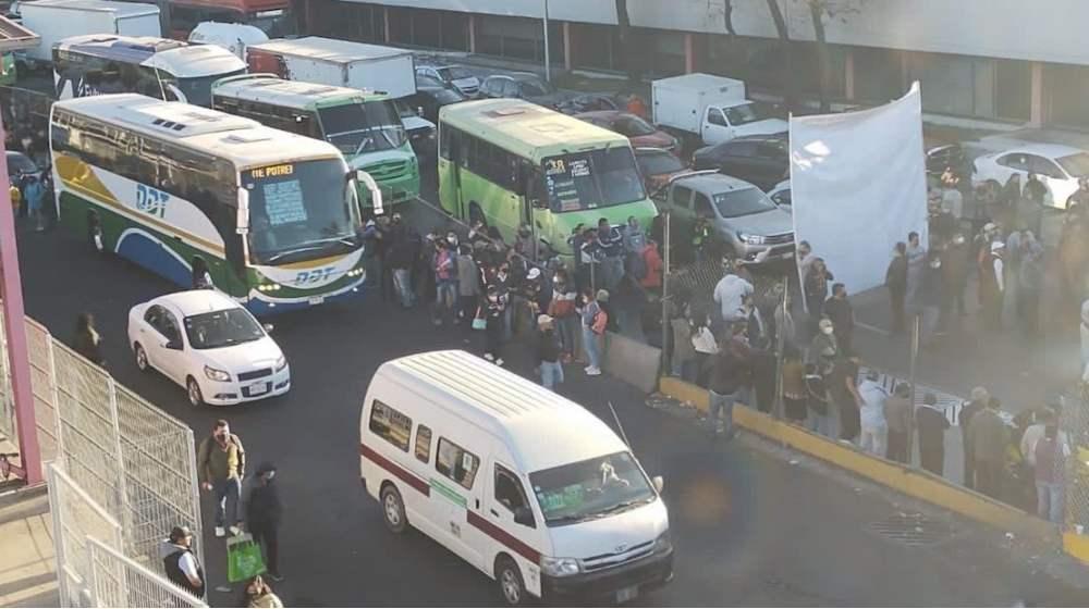 Respuesta de SEMOVI a bloqueos de transportistas