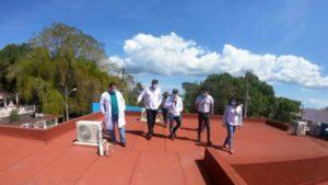 supervisan infraestructura de salud en Quintana Roo